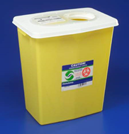 Chemotherapy Waste Containers - 12-Gallon