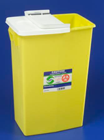 Chemotherapy Waste Containers - 18-Gallon