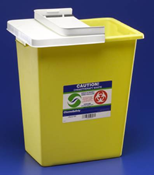 Chemotherapy Waste Containers - 8-Gallon