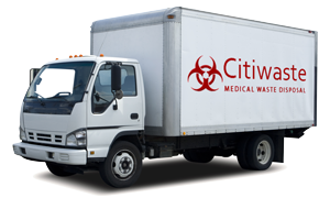 Citiwaste Medical Waste Pickup Truck